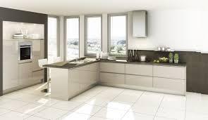 Moderne Einbauküche Classica 110 Kaschmir Glaenzend Küchen Quelle