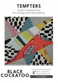 Jen Black Designs Black Cockatoo Tempter By Jen Kingwell Designs