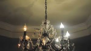 led chandelier lights. Feit LED Candelabra Light Bulb -- 5w Compared With 60w Bulbs In Chandelier - YouTube Led Lights 1