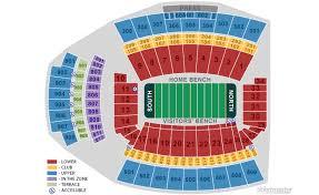 Abundant Usc Football Seating Chart Usc Trojans Football