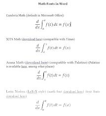 change font math equation college algebra average rate of function number mathtype
