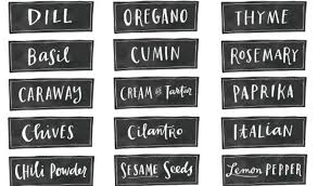 Spice Jar Labels Printable Avery Spice Labels Template 30 Best Spice Jar Labels And Templates