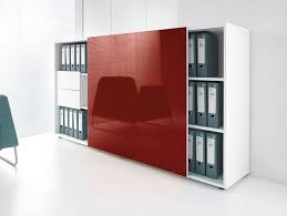 office storage unit with sliding doors gloss office storage unit by mdd