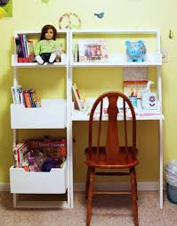 free plans to build a kids leaning wall desk from ana white com