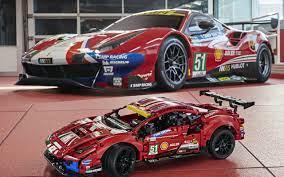 Read reviews and buy lego technic ferrari 488 gte af corse #51 42125 at target. Lego Technic Ferrari 488 Gte Af Corse 51 Set Revealed For 2021 Slashgear
