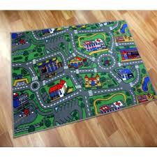 road rugs kids city car activity play mats 1x1 5m 1x2m 1 33x2m 2x2m 2x3m