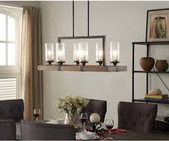 farm style chandelier farmhouse style kitchen lighting wood and metal light fixtures rustic