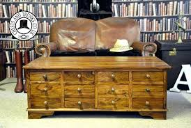 wood coffee table with drawers coffee table with drawers the large coffee table chest with drawers