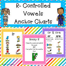Anchor Charts Gorgeous RControlled Vowels Anchor Charts By Mrs Davidson's Resources TpT