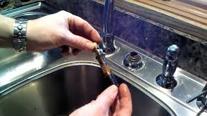 watch photo on how to fix a leaky kitchen faucet single