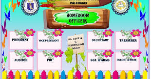 Organizational Chart For Daycare Center Classroom Homeroom Officers And Organizational Chart