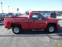 2011 Victory Red Chevrolet Silverado 1500 LS Regular Cab #76072489 ...