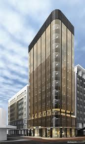 Wooden office buildings Curtain Wall Pf Olsen Tallest Wooden Office Building In The World To Be Built In Wellington
