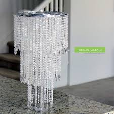 cool chandelier centerpiece com we can package 20 wedding sparkle beaded decoration crystal bling for event party decor home kitchen table diy