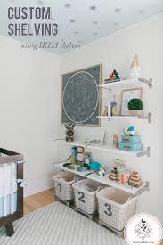 wall bookshelves for nursery extravagant reed s shelves custom shelving using ikea home interior 18