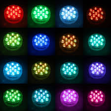 Efx Led Lights Garden Aquariums Pools 12 Pack With Remote Perfect For