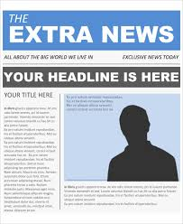 Newspaper Front Page Template Indesign Newspaper Front Page Template Google Docs Cover Letter Newspaper