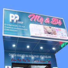 PP Shop - Cửa hàng mẹ và bé tại Huế - Home