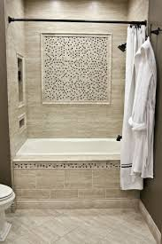 Bathroom Tub Wall Tile Designs Ceramic Wall Tile Mixed With A Stone And Glass Mixed Mosaic