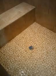 decoration pebble tile sliced natural mixed flat stratastones sliced pebble throughout pebble tile shower prepare