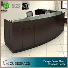 front desk furniture design. modern reception furniture desk design front counter with galss top