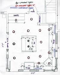 kitchen lighting plans. Kitchen Lighting Layout. Kitchen:kitchen Recessed Layout Design Lights For Beautiful Practical Plans