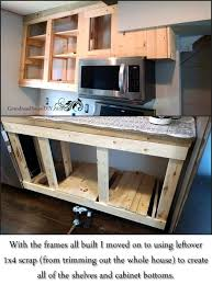 this tutorial testimonial is a great resource if you are considering building your own kitchen cabinets this woman literally built all of her own kitchen