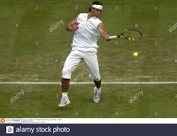 Tennis - Wimbledon - The All England Lawn Tennis Club - Wimbledon - 21/6/05  Rafael Nadal - Spanien Pflichtangabe: Action Images / Tony O'Brien  Stockfotografie - Alamy