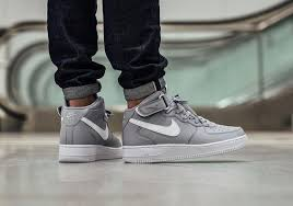 a clean and simple colorway of the nike air force 1 mid air force 1 mid