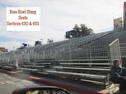Rose Parade Bleacher Seating Chart Seats Picture Of Rose Bowl Stadium Pasadena Tripadvisor