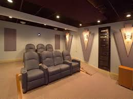 theatre room lighting ideas. Home Theater Lighting Design Inspiration Ideas Decor Featured Funky Wall And Gray Seating Theatre Room