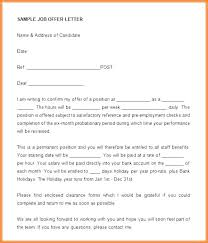 Counter Offer Letter Template Free Word Format Download
