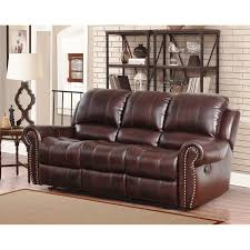 oversized leather recliner. Abbyson Broadway Premium Top-grain Leather Reclining Sofa (Burgundy (Red)), Size Oversized Recliner