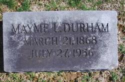 """Mary Priscilla """"Mayme"""" Lucas Durham (1868-1956) - Find A Grave Memorial"""