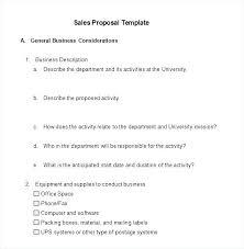 Sample Training Proposal Format Design Template Word 2013