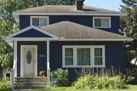 blue exterior paintDriveBy DesignExterior House Paint  Love Equity