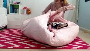 diy no sew beanbag chair sitting area you kids bean bag chair pattern