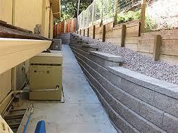concrete retaining walls danville san