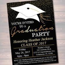 Graduation Party Announcement College Graduation Party Invitations Elegant College Graduation