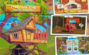 Treehouse Club Toys TutoTOONS Kids Educational Games Android İos Free Treehouse Games