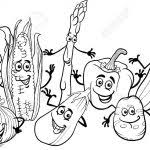 Small Picture 2017 Fruits And Vegetables Coloring Pages With Vegetables Coloring