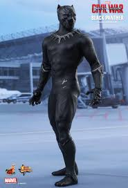 hot toys capn america civil war black panther 1 6th scale collectible figure
