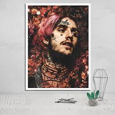 Lil Peep Photo Canvas Poster Tableau Decoration Murale Salon Posters ...