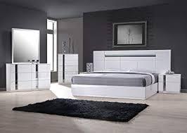 Amazon.com: J&M Furniture 17853-K Palermo King Size Bedroom set ...