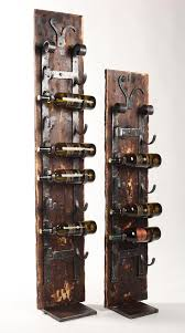 Our Floor Standing Wine Rack is Creatively Unique and is Perfect When Wall  or Counter Space is Limited. Our 'Old World' Wall Rack is Attached to a  Board ...