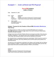 14 Business Letter Of Intent Templates Pdf Doc Free