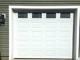 10 ft garage door foot wide 8 ft tall garage door with the tracks