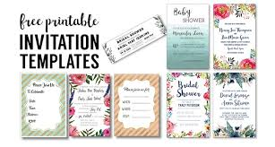 Easy Invitation Templates Party Invitation Templates Free Printables Paper Trail Design