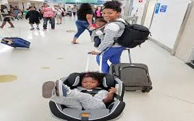 one of the questions i get asked a lot is how we manage traveling and carrying all of our kids gear i have seen far to many pas including myself one