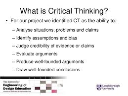 gibbins and perkin inted critical thinking paper  critical thinking 4